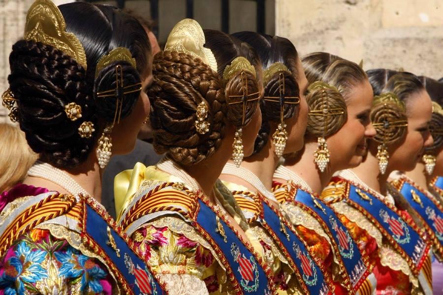 Peinados de Valenciana